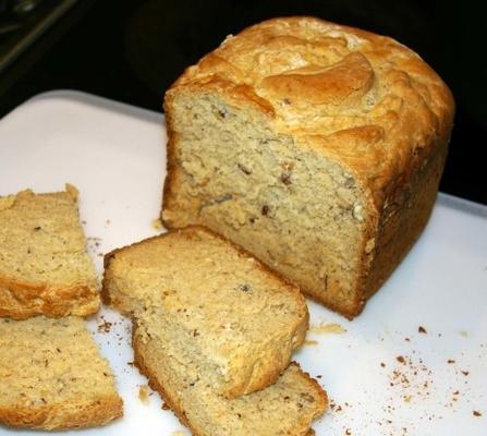pain aux noisettes sans gluten (abm)