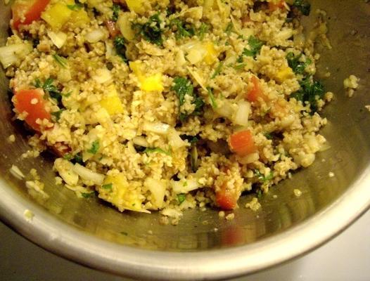 salade de blé au bulgur frais et frais