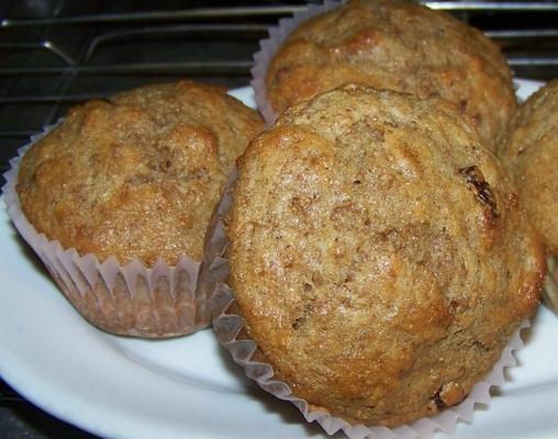 muffins au son pomme pour réfrigérateur