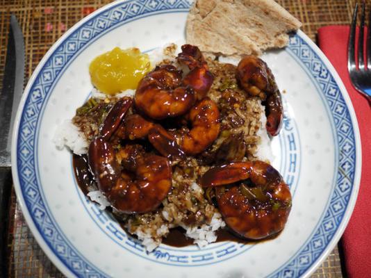 crevettes de madhur jaffrey à la manière maharashtrienne