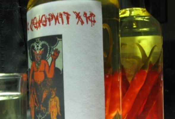 vodka piment de Cayenne