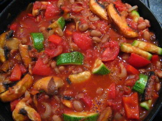 casserole de haricots de rechange