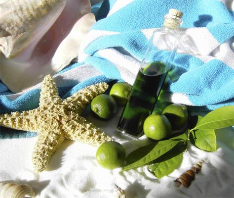 extrait de citron vert pur