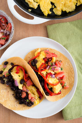 tacos huevos rancheros