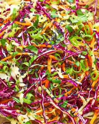 salade de sésame au gingembre