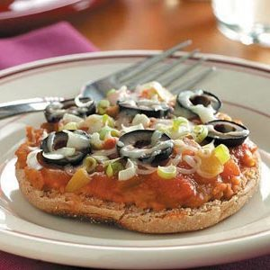 Petites pizzas mexicaines