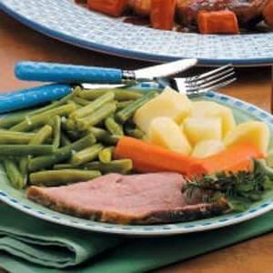 Jambon aux légumes