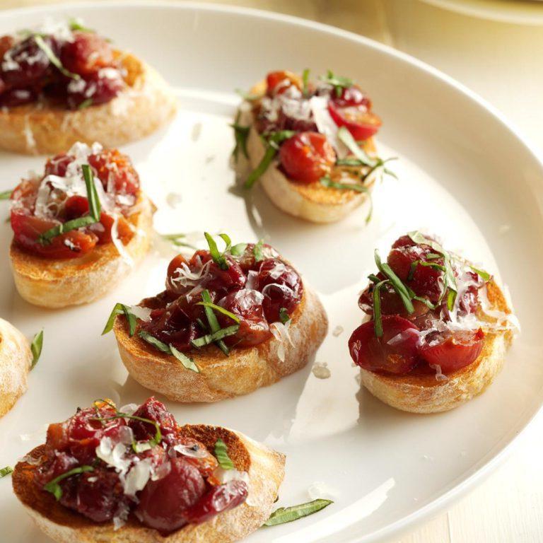 Crostini raisin dame d'espagne