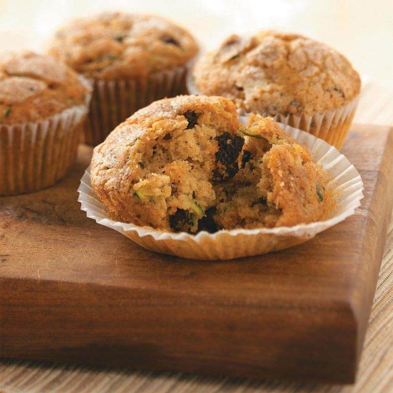 Muffins à l'orange et aux courgettes