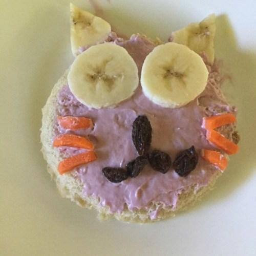 Sandwichs pour chats après l'école