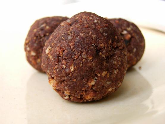 Biscuits amaretto (sans cuisson)