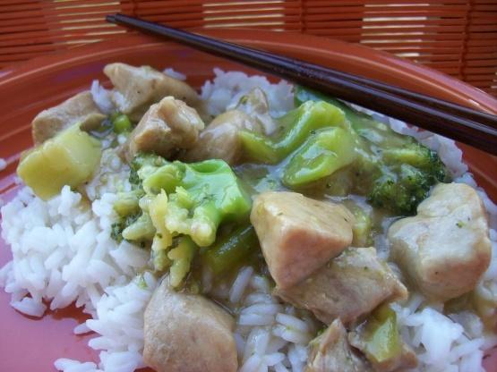 Oriental de porc et de brocoli