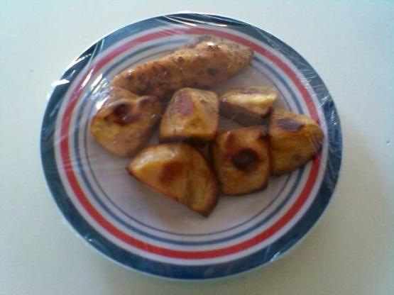 Patates douces rôties au miel / kumara