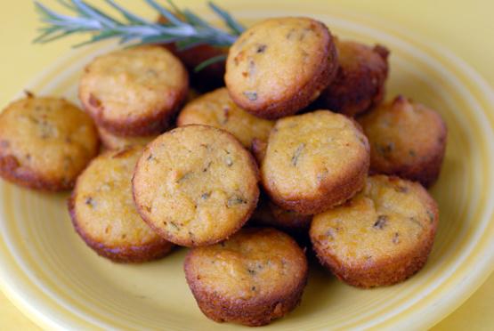 Mini-muffins citron romarin