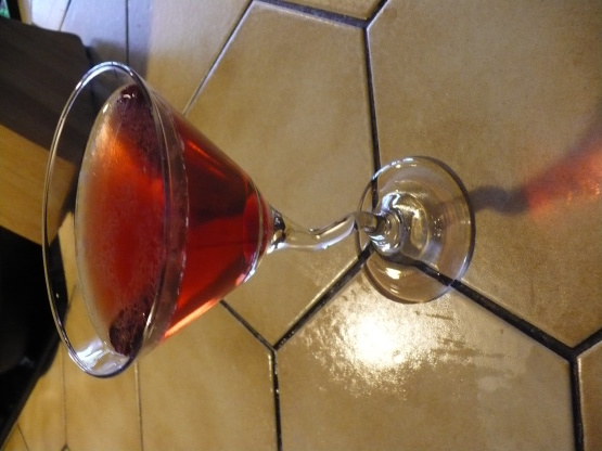 Cerise - saké - tini martini